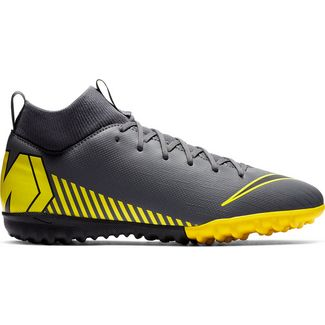 Nike JR MERCURIAL SUPERFLY 6 ACADEMY GS TF Fußballschuhe Kinder dk grey-black-dk grey-opti yellow