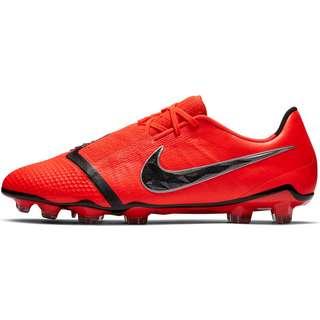 Nike PHANTOM VENOM ELITE FG Fußballschuhe brt crimson-black-brt crimson-mtlc silver