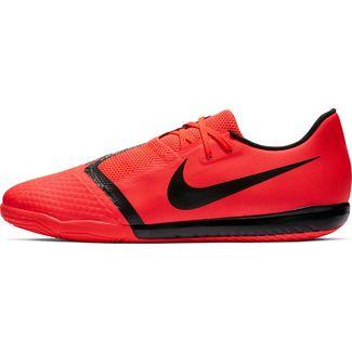 Nike PHANTOM VENOM ACADEMY IC Fußballschuhe brt crimson-black-brt crimson-mtlc silver
