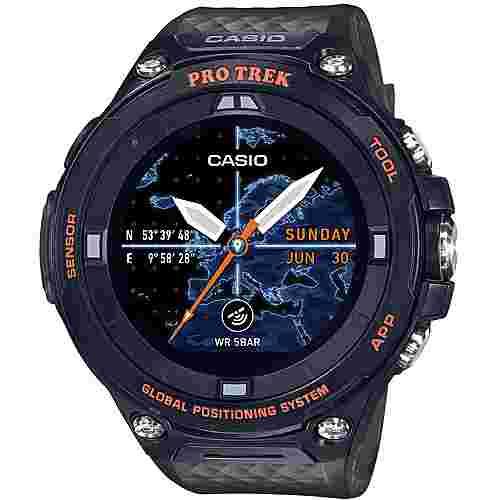 CASIO WSD-F20A Smartwatch Grün