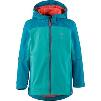 Regatta Hipoint Stretch IV Regenjacke Kinder Enamel/Ceramic