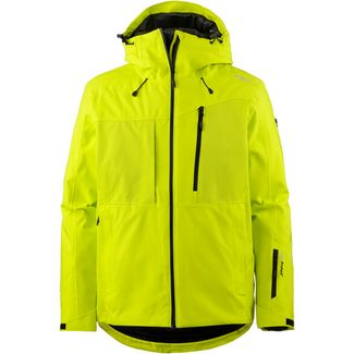 CMP Man Jacket Fix Hood Skijacke Herren LIMEADE