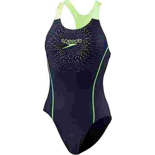 SPEEDO Gala Logo Medalist Schwimmanzug Damen navy-green