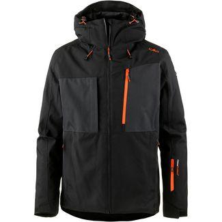 CMP Man Jacket Fix Hood Skijacke Herren NERO