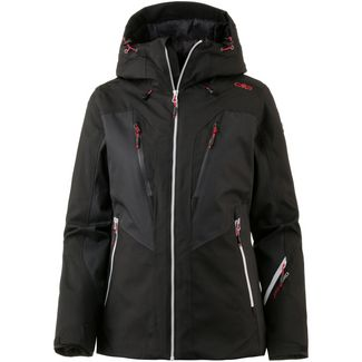 CMP Woman Jacket Fix Hood Skijacke Damen NERO