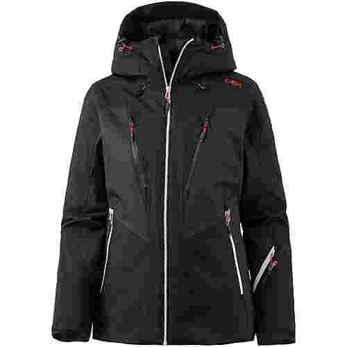 CMP Woman Jacket Fix Hood Skijacke Damen NERO