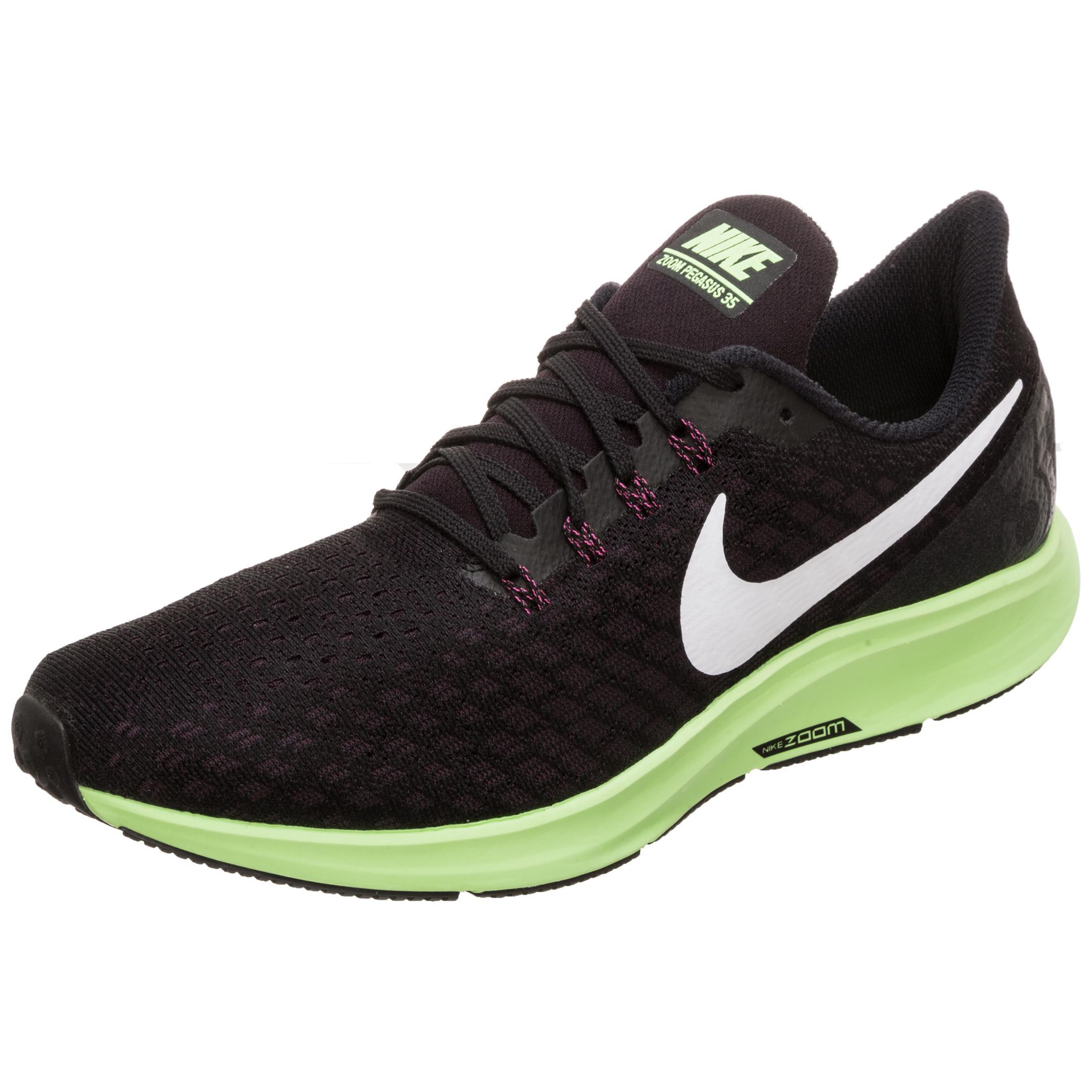 100% quality best selling various styles Nike Air Zoom Pegasus 35 Laufschuhe Herren schwarz / grün im Online Shop  von SportScheck kaufen
