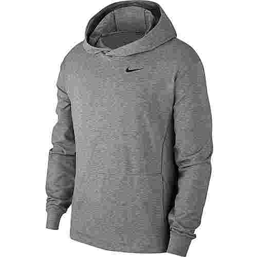 Nike Dry Hyper Dry Hoodie Herren gunsmoke-htr-black
