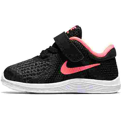 Nike Revolution Laufschuhe Kinder black-racer-pink-white