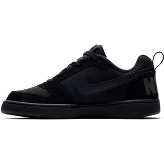 Nike Court Borough Sneaker Kinder black-black-black