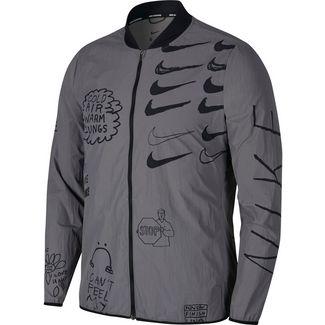 Nike Run Laufjacke Herren gunsmoke