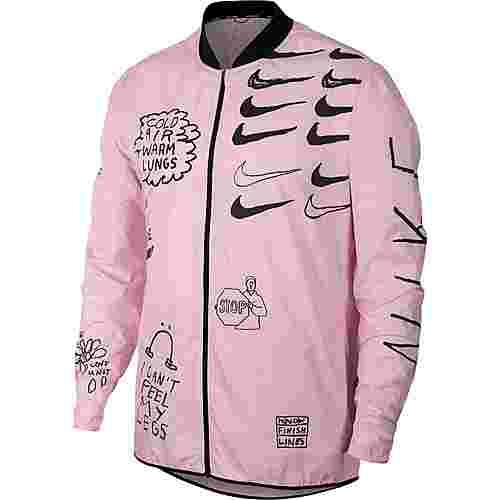 Nike Run Laufjacke Herren pink foam