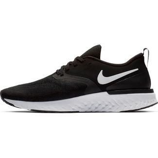 Nike ODYSSEY REACT 2 FLYKNIT Laufschuhe Herren black-white