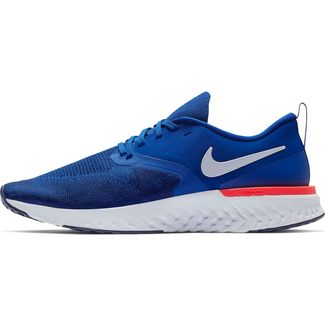 wholesale dealer 916ed 10cd1 Nike ODYSSEY REACT 2 FLYKNIT Laufschuhe Herren indigo roce-white-blue void-r