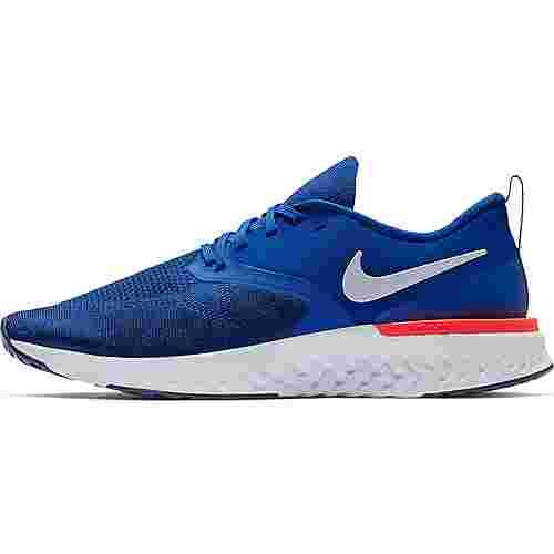 Nike ODYSSEY REACT 2 FLYKNIT Laufschuhe Herren indigo roce-white-blue void-r