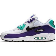 Nike Air Max 90 Sneaker Herren white-black-hyper jade
