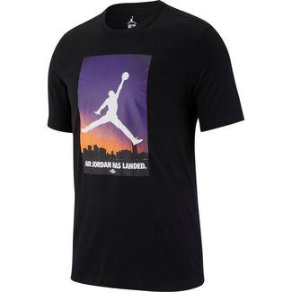 Nike Jordan 23 T-Shirt Herren black-half blue