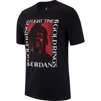 Nike T-Shirt Herren black