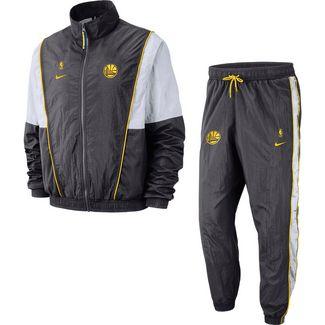 Nike Golden State Warriors Trainingsanzug Herren anthracite-white-amarillo