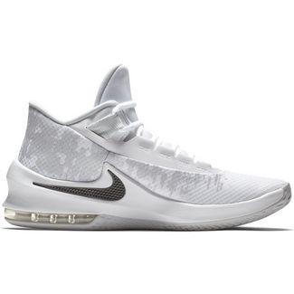 Nike Air Max Infuriate 2 Mid Basketballschuhe Herren white-black-pure platinum
