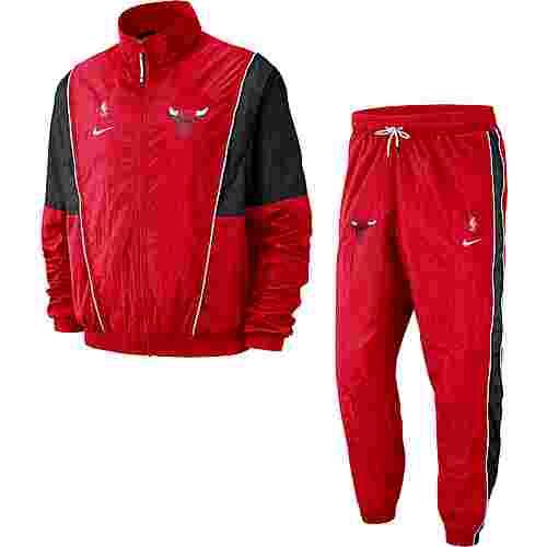 Nike Chicago Bulls Trainingsanzug Herren university red-black-white