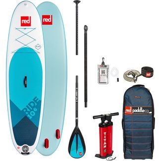"Red Paddle RIDE SET 10'6"" x 32"" x 4,7"" SUP Board weiß-blau"