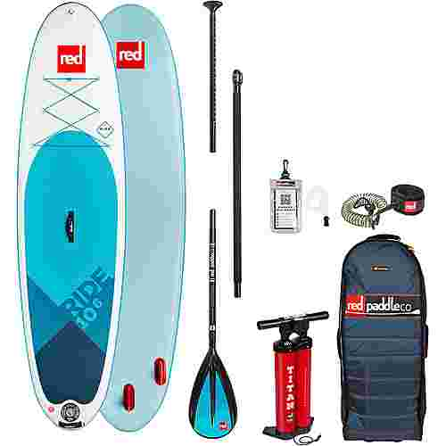 "Red Paddle RIDE SET 10'6"" x 32"" x 4,7"" SUP Board weiß-blau"