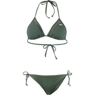 Roxy Garden Summers Bikini Set Damen duck green