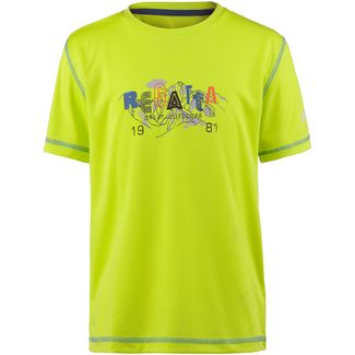 Regatta Alvarado IV Funktionsshirt Kinder Lime Punch