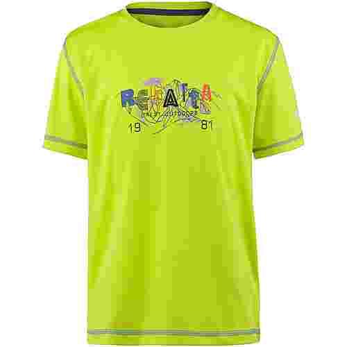 Regatta Alvarado IV Funktionsshirt Kinder Lime Punch