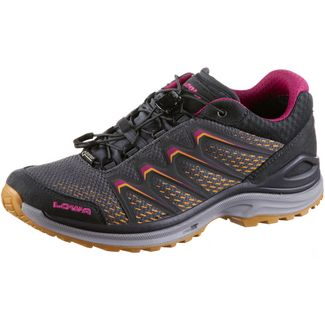Lowa Maddox Low GTX® Multifunktionsschuhe Damen grey-mandarin