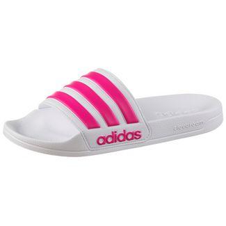 adidas Adilette Shower Badelatschen Damen white pink