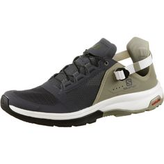 Salomon Techamphibian 4 Wasserschuhe Herren ebony-mermaid-vanilla
