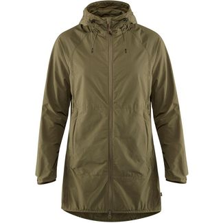 FJÄLLRÄVEN High Coast Wind Parka Damen laurel green