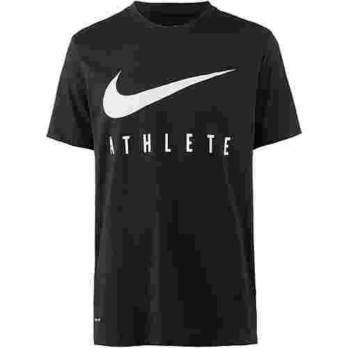 Nike Dry Athlete Funktionsshirt Herren black-white
