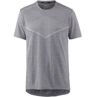 Nike Techknit Laufshirt Herren gunsmoke-atmosphere grey-reflective silv