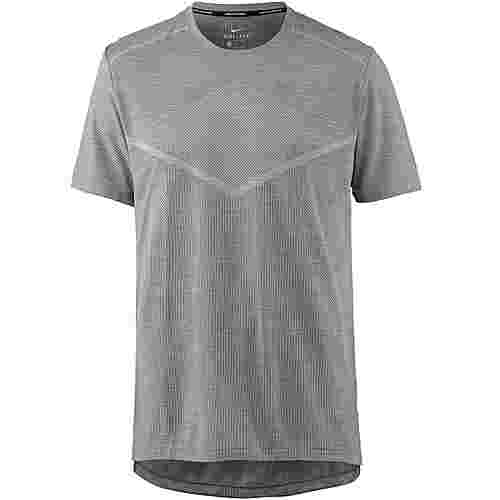 Nike Techknit Laufshirt Herren gunsmoke-atmosphere grey-reflective silv