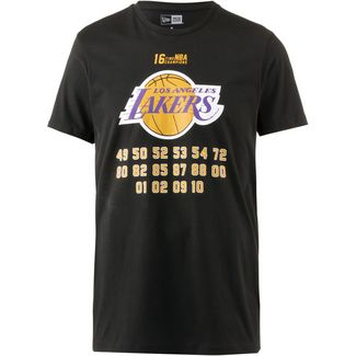 New Era Los Angeles Lakers T-Shirt Herren black