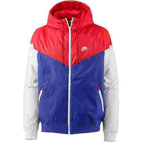 Nike NSW Kapuzenjacke Herren university red-indigo force