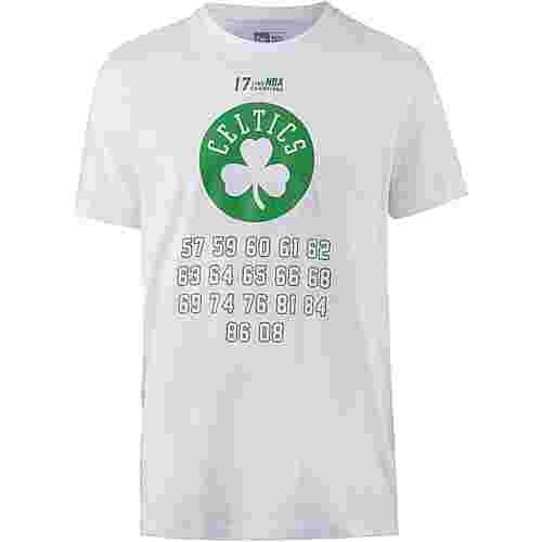 New Era Boston Celtics T-Shirt Herren optic white