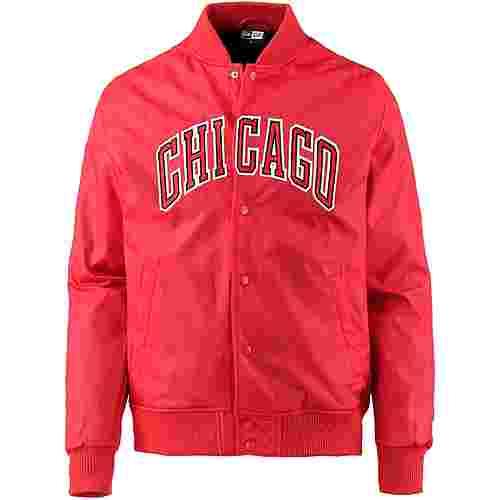 New Era Chicago Bulls Jacke Herren front door red