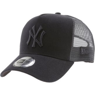 626397fd659 New Era A-Frame Trucker New York Yankees Cap black-black