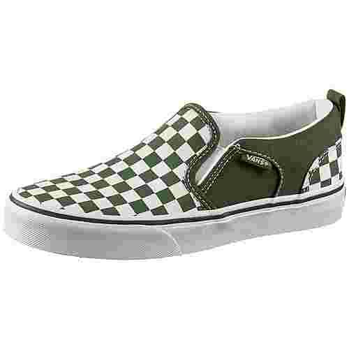 Vans YT Asher Sneaker Kinder garden-green
