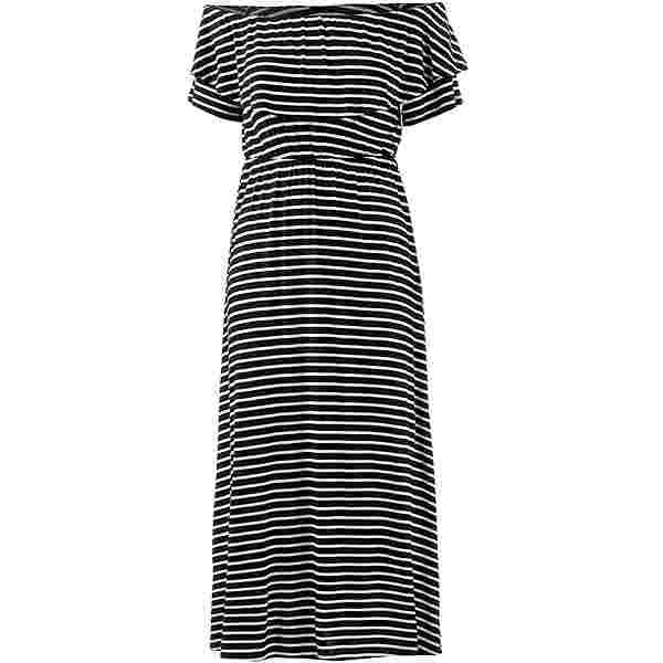Khujo Taurina Maxikleid Damen white thin stripe