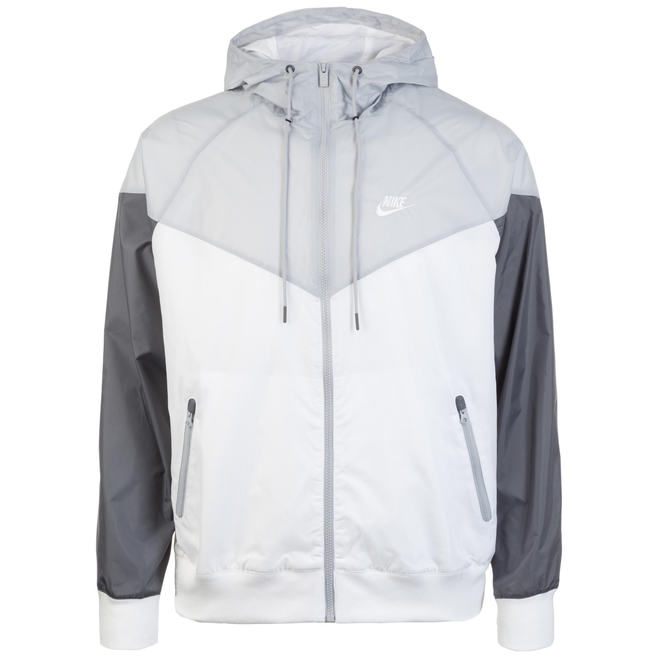758796f5f7080 Nike Windrunner Outdoorjacke Herren weiß   grau im Online Shop von  SportScheck kaufen