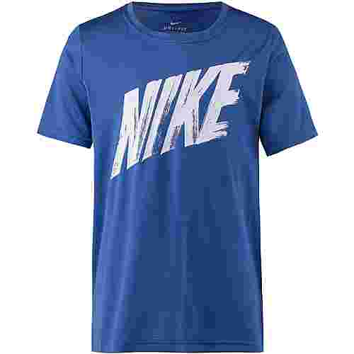 Nike T-Shirt Kinder indigo-force-white-white