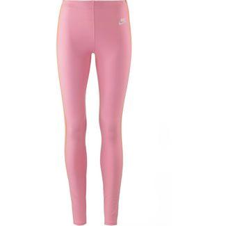 Nike NSW HRTG Leggings Damen med soft pink-orange peel