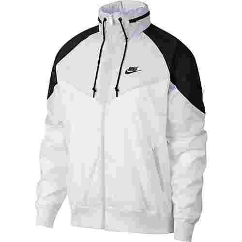 Nike NSW Windrunner Nylonjacke Herren white-wolf grey-black