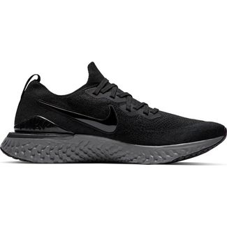 100% authentic f36a8 a2f61 Nike EPIC REACT FLYKNIT 2 Laufschuhe Herren black-black-white-gunsmoke