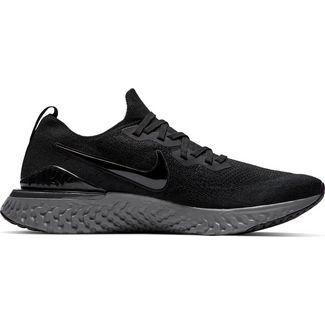 100% authentic 317cf ce443 Nike EPIC REACT FLYKNIT 2 Laufschuhe Herren black-black-white-gunsmoke
